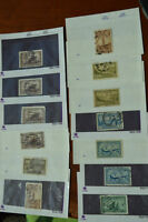 38 Old Canadian Stamps
