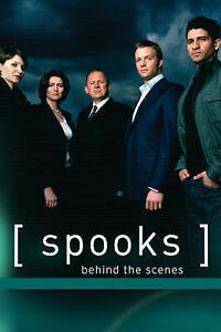 Spooks : Behind The Scenes Hardback BBC Drama MI5 New