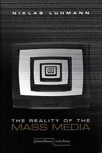 The-Reality-of-the-Mass-Media-by-Luhmann-Niklas-Paperback
