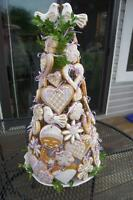 Wedding Tree-of-Life Cookie Cake