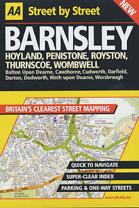 AA-Street-by-Street-Barnsley-Good-Book