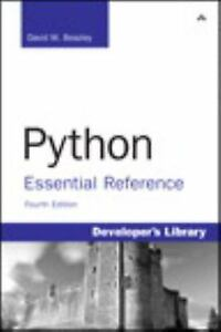 Python Essential Reference 4th Edition  - $5.71