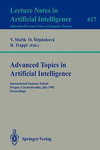 Advanced Topics in Artificial Intelligence: International Summer School, Prague