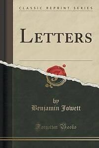 Letters-Classic-Reprint-by-Jowett-Benjamin-Paperback