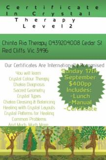 Certificate in Crystal Therapy