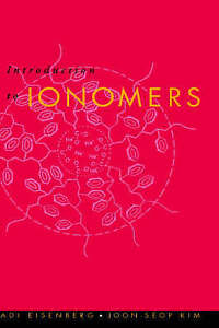 Introduction to Ionomers by Eisenberg, Adi, Kim, Joon-Seop