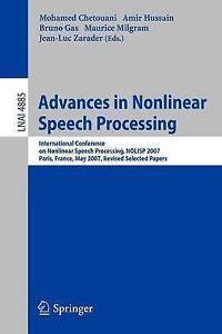 Advances in Nonlinear Speech Processing: International Conference on Non-Linear