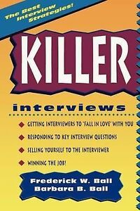Killer Interviews, Revised Edition-ExLibrary