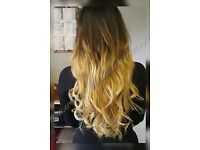 HAIR EXTENSIONS, CREDIT CARDS ACCEPTED, ALL COLOURS IN STOCK, FLEXIBLE HOURS