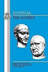 Juvenal: The Satires (Latin Texts) by Juvenal | Paperback Book | 9781853995811 |