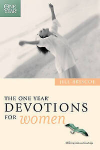 The One Year Devotions for Women, By Briscoe, Jill,in Used but Acceptable condit