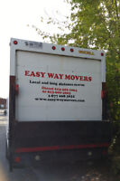 Two Movers & a Truck @ $99HR Best Movers in Town -fully insured