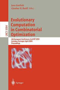NEW Evolutionary Computation In Combinatorial Optimization BOOK (Paperback)