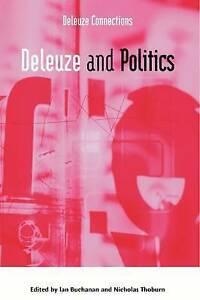 Buchanan-Deleuze And Politics  BOOK NEW
