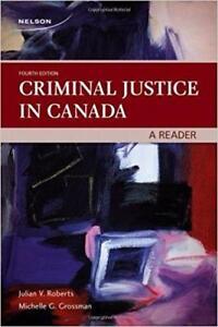 Criminal Justice in Canada  A Reader 4th Edition