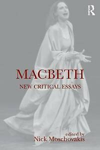new macbeth new critical essays shakespeare criticism  image is loading new macbeth new critical essays shakespeare criticism
