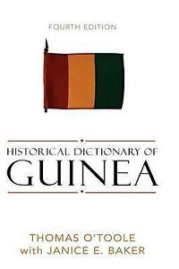 Historical Dictionary of Guinea (Historical Dictionaries of Africa)-ExLibrary