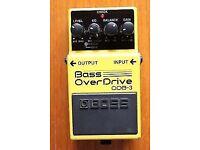 Boss Overdrive Bass Pedal (odb-3)