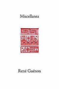 NEW Miscellanea (Classics in Applied Mathematics) by Rene Guenon