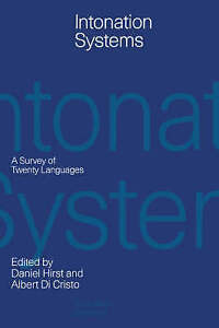 Intonation Systems: A Survey of Twenty Languages-ExLibrary