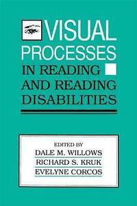 Visual Processes in Reading and Reading Disabilities, , Used; Good Book