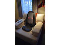 HoMedics SBM-179H-3GB Shiatsu Massager with integrated controls