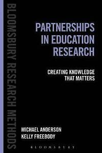Partnerships in Education Research by Anderson/Freebody New Paperback, Free Post
