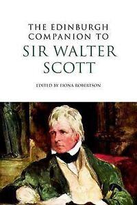 Robertson-Edinburgh Companion To Sir Walter Scott  BOOK NEW