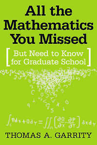 All the Mathematics You Missed But Need to Know for Graduate School-ExLibrary