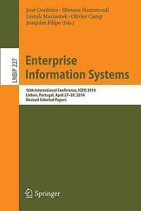 Enterprise Information Systems: 16th International Conference, ICEIS 2014, Lisbo