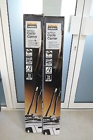 Pair Of Halfords Advanced Roof Mounted Cycle Carriers- NEW
