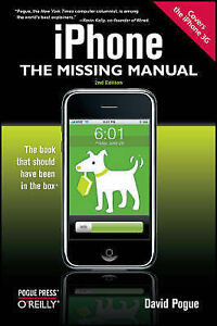 """""""VERY GOOD"""" iPhone: The Missing Manual: Covers the iPhone 3G, David Pogue, Book"""