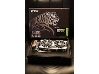 MSI NVidia GeForce GTX 970 4GD5T OC 4GB for sale or swap for WII U