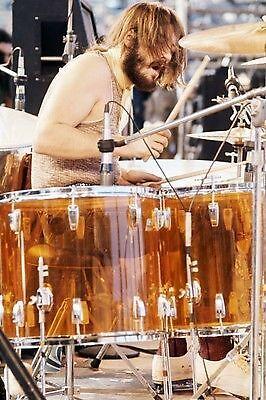 Das Ludwig Amber Vistalite Drumkit von John Bonham