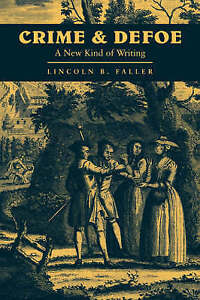 Crime and Defoe: A New Kind of Writing (Cambridge Studies in-ExLibrary