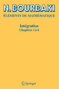 Integration: Chapitres 1-4 (French Edition) by Bourbaki, N. | Paperback Book | 9