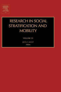 NEW Research in Social Stratification and Mobility
