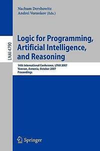 Logic for Programming Artificial Intelligence and Reasoning: 14th...