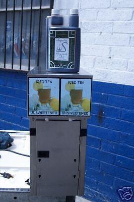ICE TEA  DISPENSER, 2 FLAVORS
