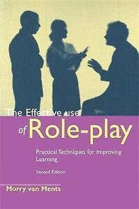 The Effective Use of Role Play, Ments, Morry Van, Very Good