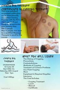 Certificate in Cupping Therapy Red Cliffs Mildura City Preview