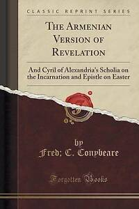 The-Armenian-Version-Revelation-Cyril-Alexandria-039-s-Scholia-on-Incarnation-Epistl