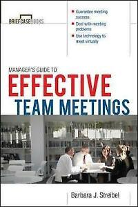The Manager's Guide to Effective Meetings-ExLibrary