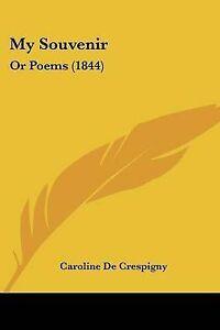 My-Souvenir-Or-Poems-1844-9781120331021-Paperback