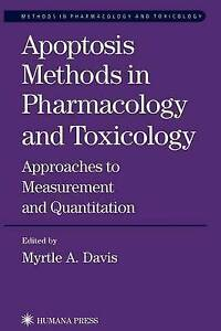 Apoptosis Methods in Pharmacology and Toxicology: Approaches to Measurement and