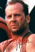 Bruce Willis Autogramm