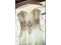Stunning Ronald Joyce, Rossella bridal gown.