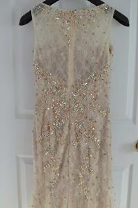 Beautiful gold nude evening prom dress London Ontario image 5
