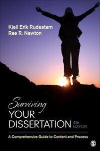 Surviving your dissertation rudestam and newton