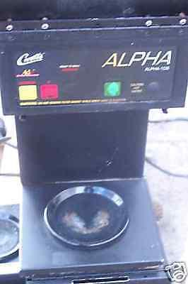 Coffee Maker Automatic 220v Alpha Digi Control 3 Elem. 900 Items On E Bay